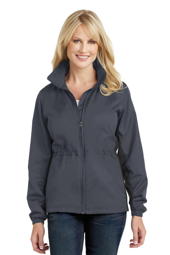 Port Authority® Ladies Core Colorblock Wind Jacket. L330
