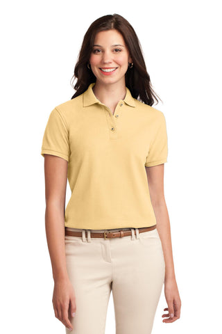Port Authority® Ladies Silk Touch Polo.  L500""