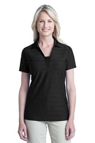 Port Authority® Ladies Horizontal Texture Polo. L514