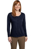 Port Authority® Ladies Silk Touch Interlock Cardigan. L530""