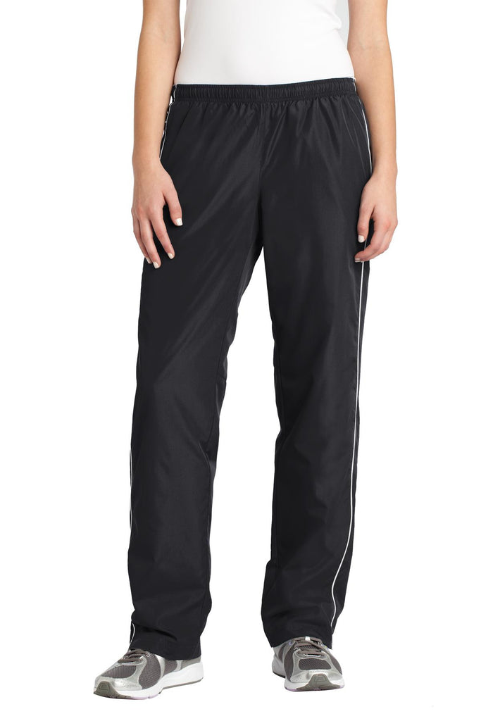 Sport-Tek® Ladies Piped Wind Pant. LPST61