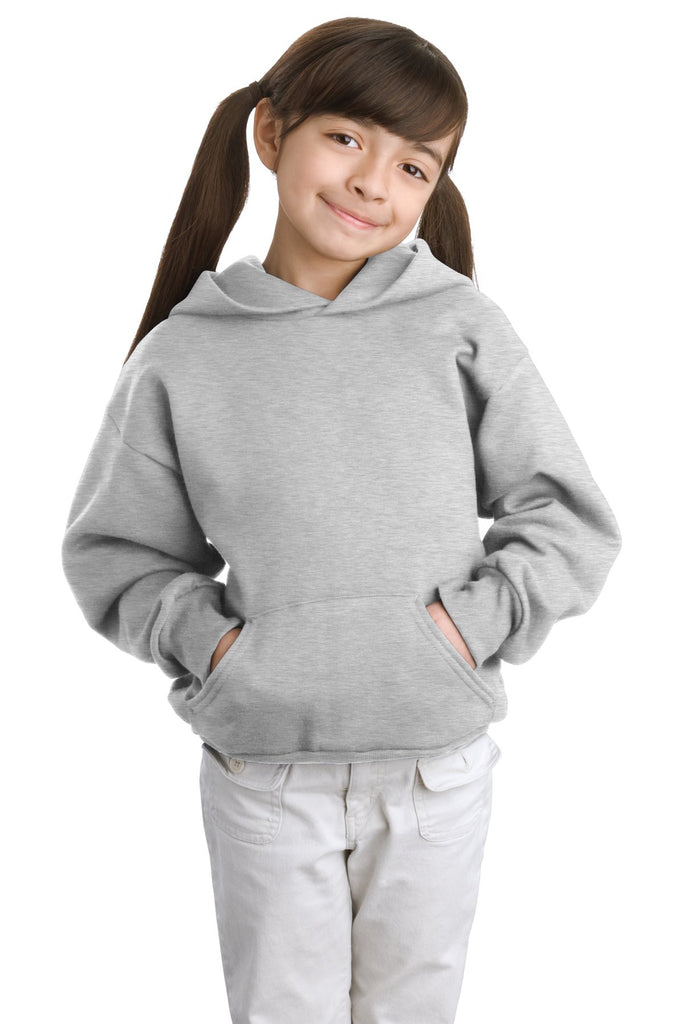 Hanes® - Youth Comfortblend® EcoSmart® Pullover Hooded Sweatshirt.  P470