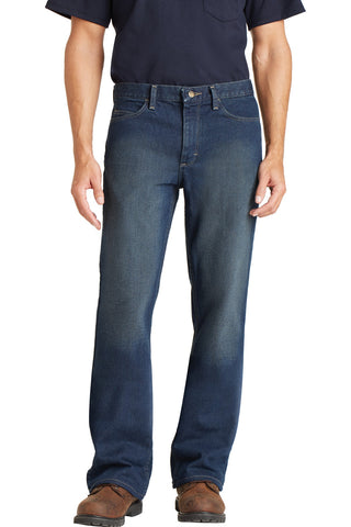 Bulwark® EXCEL FR® Men's Straight Fit Sanded Denim Jean. PEJM