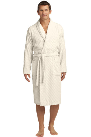 Port Authority® Checkered Terry Shawl Collar Robe. R103