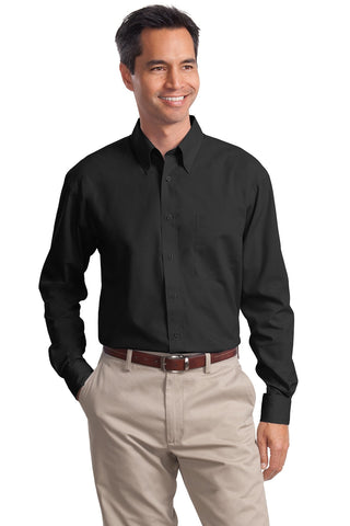 Port Authority® Long Sleeve Value Poplin Shirt. S632