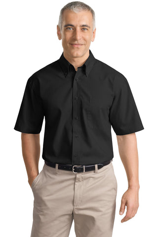 Port Authority® Short Sleeve Value Poplin Shirt. S633