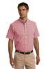 Port Authority® Short Sleeve Gingham Easy Care Shirt. S655