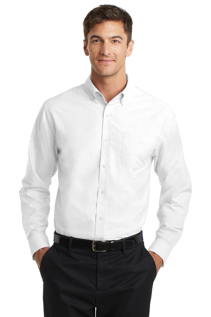 Port Authority® SuperPro Oxford Shirt. S658""