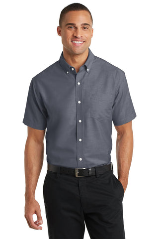 Port Authority® Short Sleeve SuperPro Oxford Shirt. S659""