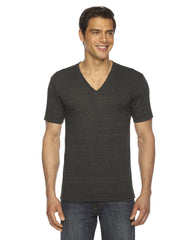 American Apparel Unisex Triblend Short-Sleeve V-Neck T-shirt