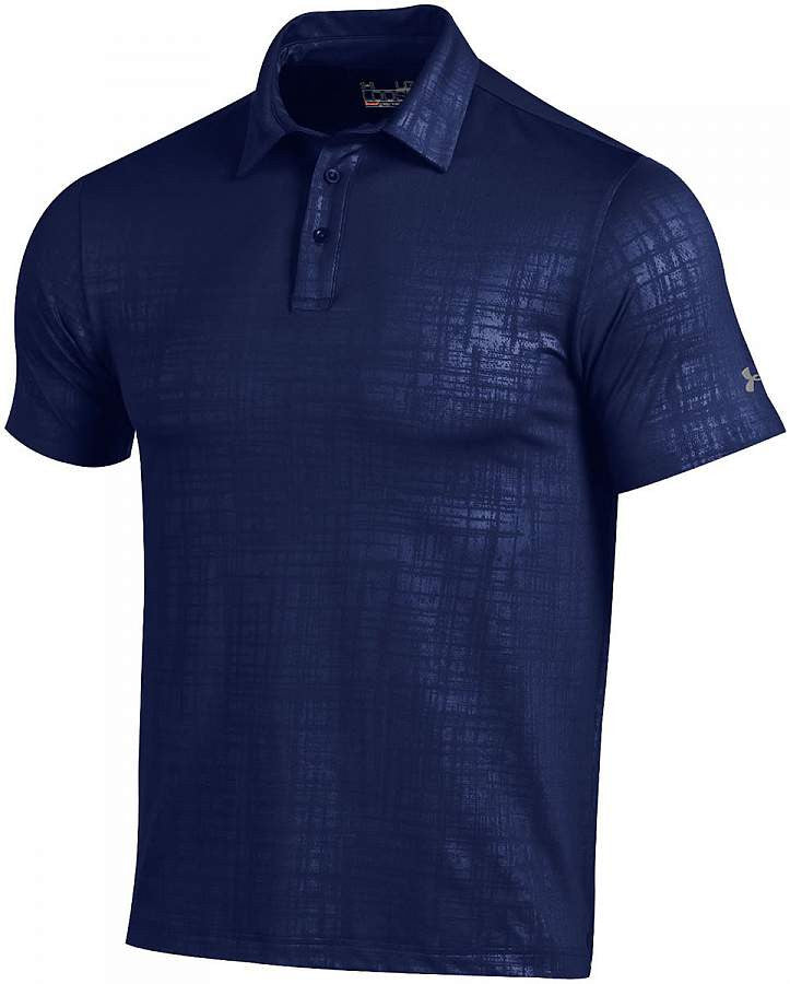 Under Armour Men's Scratch Plaid Polo
