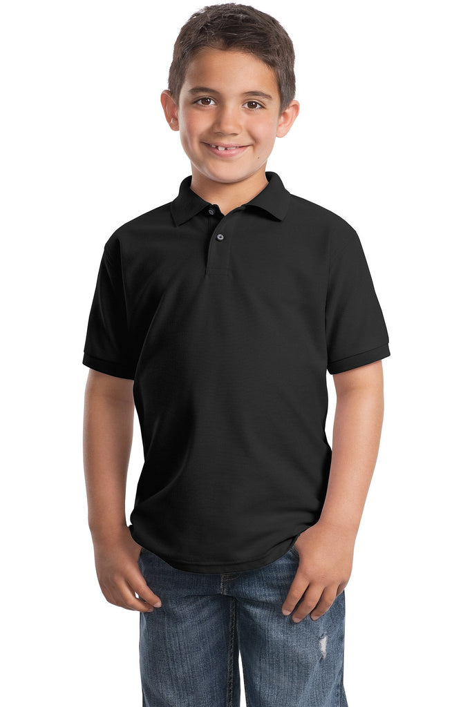 Port Authority® Youth Silk Touch Polo.  Y500""