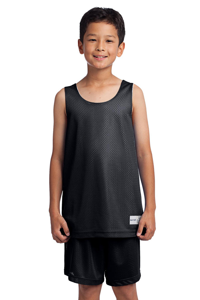 Sport-Tek® Youth PosiCharge™ Classic Mesh Reversible Tank. YST500