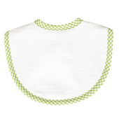 3 Marthas Gingham Pique Medium Bib