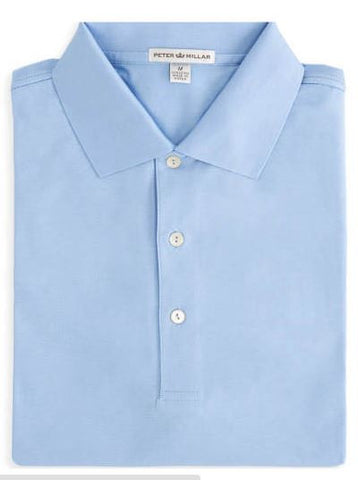Peter Millar Solid Cotton Lisle Polo