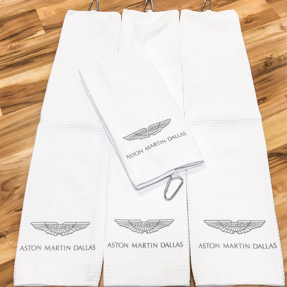 Aston Martin Dallas - Monogrammed Towels