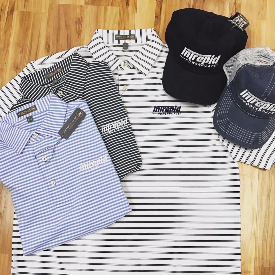 Peter Miller Striped Polos & Hats