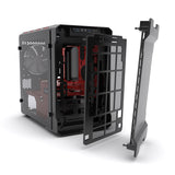 Phanteks Evolv ITX Tempered Glass Black with Red