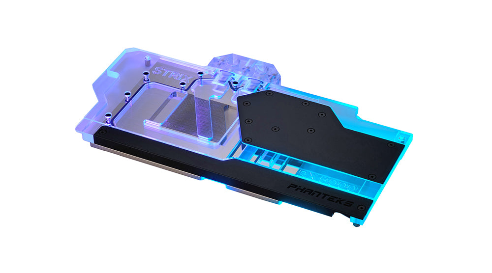 Phanteks Glacier G6000 Strix water block Black