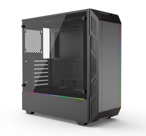 Open image in slideshow, Phanteks Eclipse P350X Digital RGB chassis Black