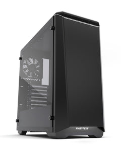 Phanteks Eclipse P400 Tempered glass Black with White