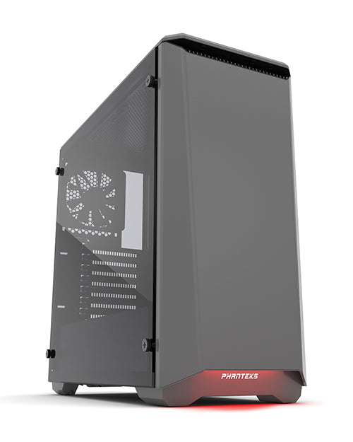 Phanteks Eclipse P400S Tempered glass Gray