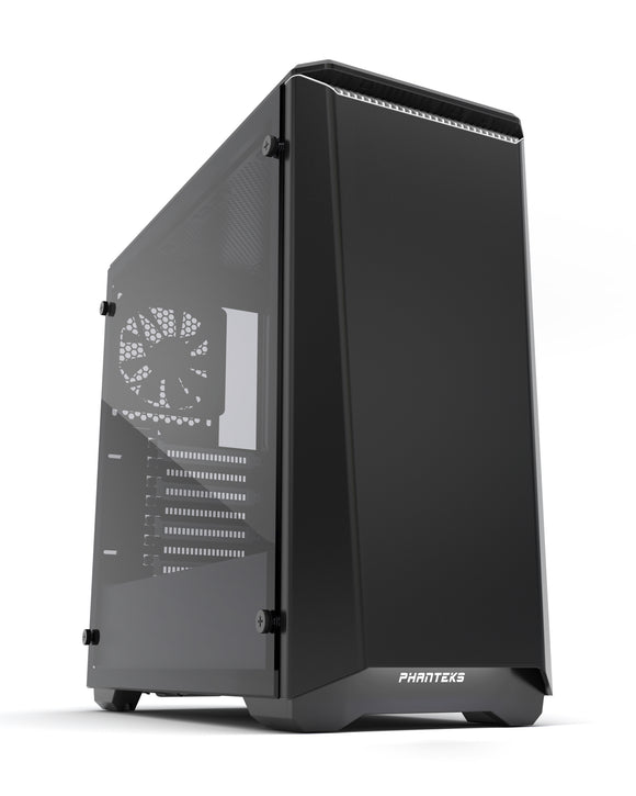 Phanteks Eclipse P400S Tempered glass Black with White