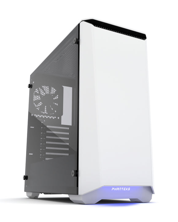 Phanteks Eclipse P400S Tempered glass White