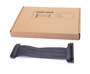 Phanteks 220 mm Flatline PCI-E x16 Riser Cable 90° Adapter