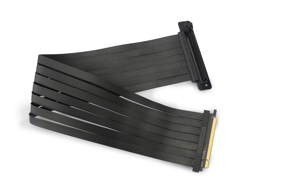 Phanteks 600 mm Premium Shielded High speed PCI-E x16 Riser Cable 90° Adapter