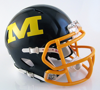 Archbishop Moeller (2017), Mini Football Helmet - T-Mac Sports