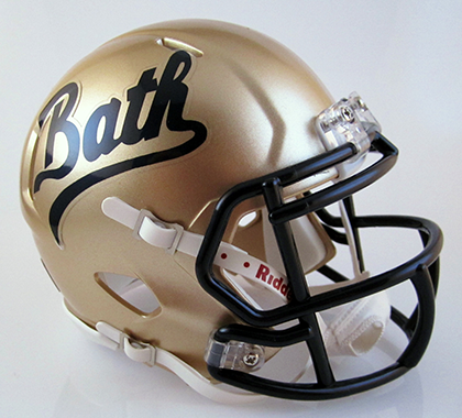 Bath (2008), Mini Football Helmet - T-Mac Sports