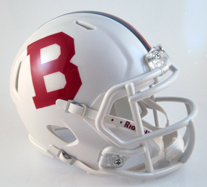 Bellefountaine, Mini Football Helmet - T-Mac Sports
