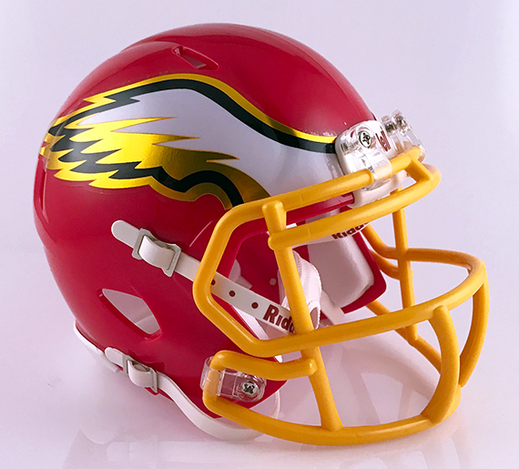 Big Walnut, Mini Football Helmet - T-Mac Sports