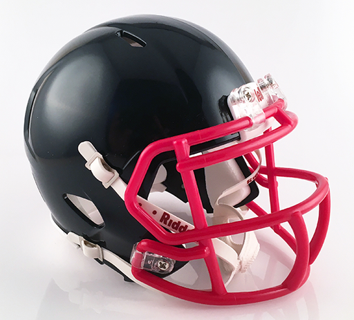 Bishop Hartley, Mini Football Helmet - T-Mac Sports