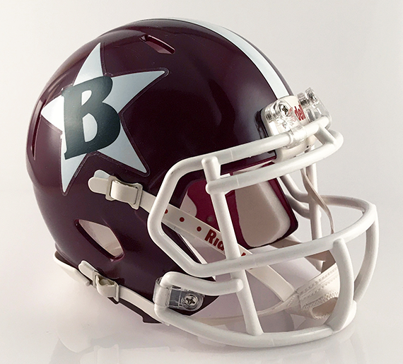 Boardman, Mini Football Helmet - T-Mac Sports