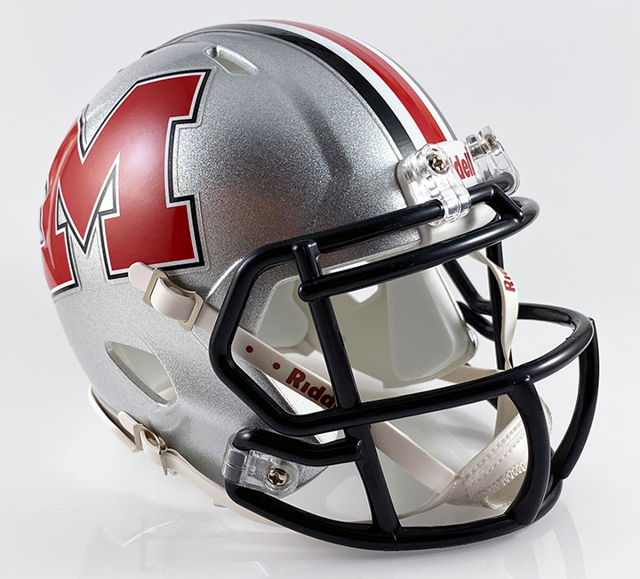 Cabell Midland (WV), Mini Football Helmet - T-Mac Sports
