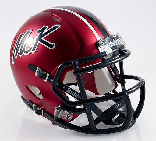 Canton McKinley (Alt Red), Mini Football Helmet - T-Mac Sports
