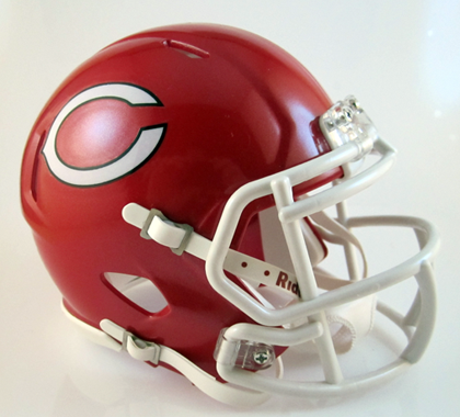 Carthage (TX), Mini Football Helmet - T-Mac Sports