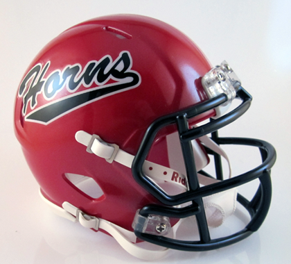 Cedar Hill (TX), Mini Football Helmet - T-Mac Sports