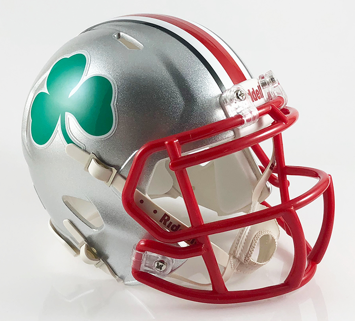 Central Catholic (Toledo) (2011), Mini Football Helmet - T-Mac Sports