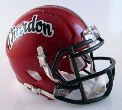 Chardon, Mini Football Helmet - T-Mac Sports