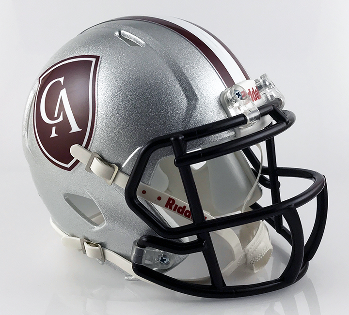 Columbus Academy, Mini Football Helmet - T-Mac Sports