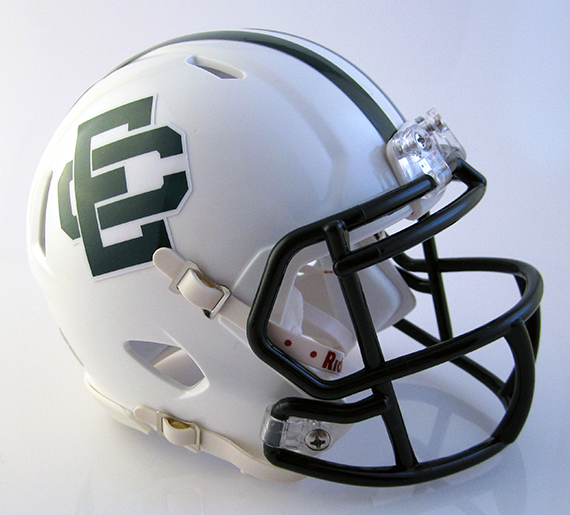 Elyria Catholic, Mini Football Helmet - T-Mac Sports