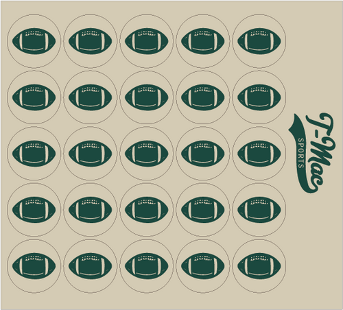 Football Award Decals