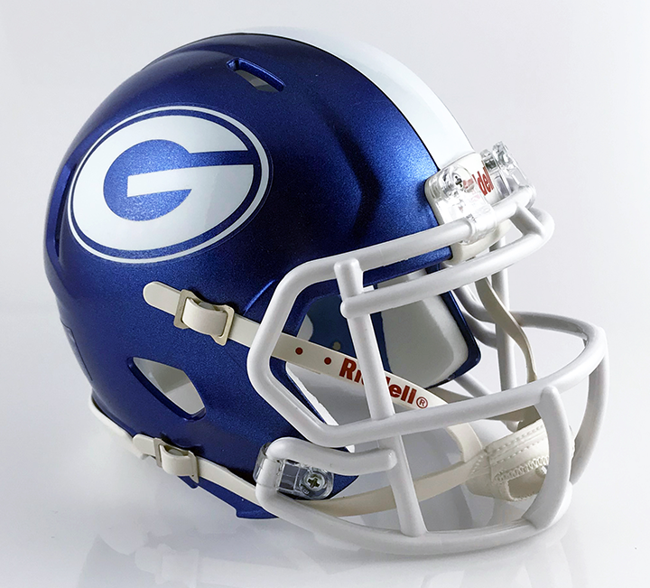 Gallia Academy (2016), Mini Football Helmet - T-Mac Sports
