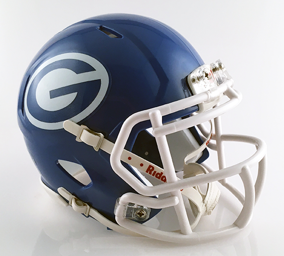 Grand Prairie (TX), Mini Football Helmet - T-Mac Sports