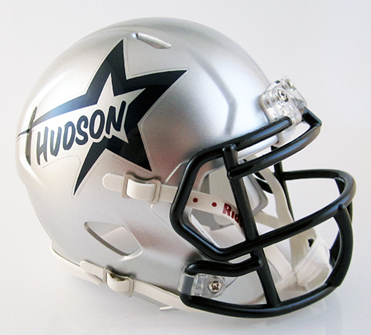 Hudson, Mini Football Helmet - T-Mac Sports