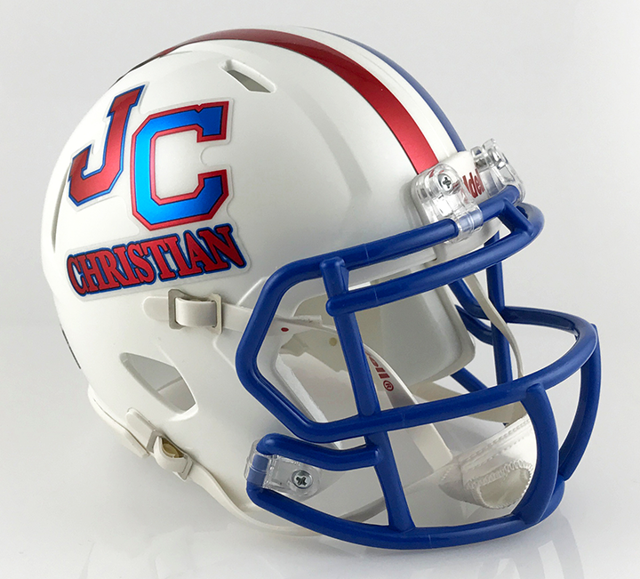 John Curtis (LA), Mini Football Helmet - T-Mac Sports