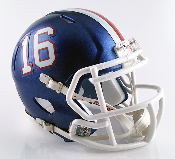 Lake (Uniontown), Mini Football Helmet - T-Mac Sports